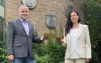 Claudia Sommer übergibt Wahlunterlagen:Eine Woche mit bewegenden Momenten in der Samtgemeinde Wathlingen